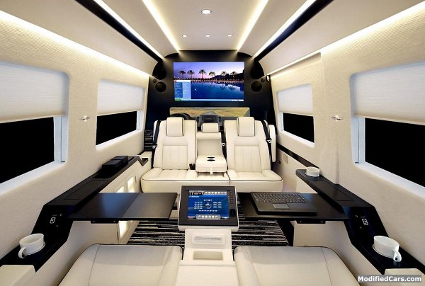 A Campervan As Luxurious Jet
