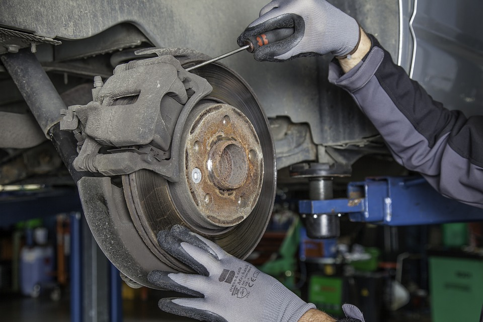 Changing Brake Pads and Discs